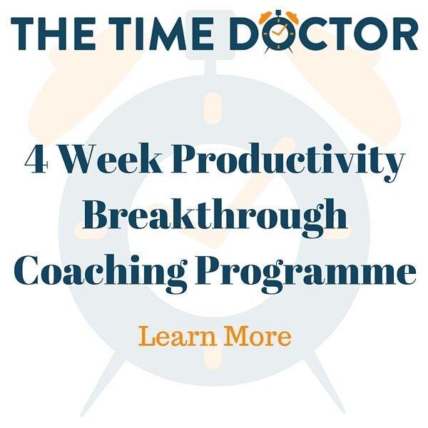 4 Week Productivity Breakthrough Coaching Programme